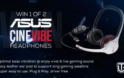 TEAM GATES Asus Cinevibe headset giveaway