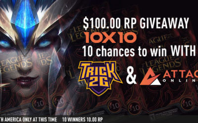 10 x $10 RP Giveaway with AttaqOnline.com